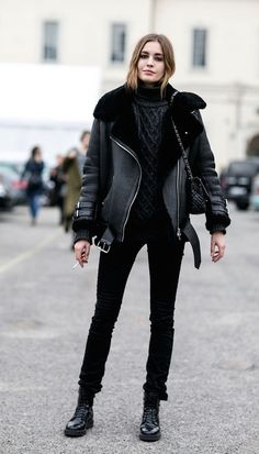 Out off duty. Milan Fashion Week, Fall 2015 RTW.