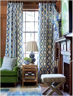Sarah Bartholomew In House Beautiful Window Treatmentswindow