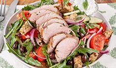 Greek Souvlaki Salad