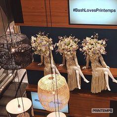 "LE PRINTEMPS, Paris, France, ""#BashLovesPrintemps"", pinned by Ton van der Veer"