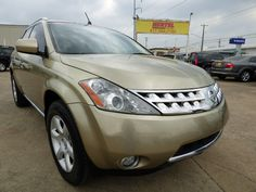 Bold in Gold! This Texas-Owned 2007 #Nissan #Murano SE #AWD #SUV with Leather, Sunroof, Backup Cam, Just 114K & a Clean CARFAX Makes Quite a Statement at Just $7,990! -- http://www.hertelautogroup.com/2007-Nissan-Murano/Used-SUV/FortWorth-TX/9204816/Details.aspx  #nissanmurano #luxurysuv #firstcar #goodcar