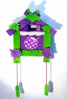 Kuckucksuhr aus dem DIY Magazin handmade Kultur