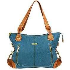 timi & leslie Kate Diaper Bag Set, Dark Teal/Saddle The Kate bag's upscale sophistication will make you the envy of all the moms on the block. Convertible Diaper Bag, Leather Diaper Bags, Best Diaper Bag, Holding Baby, Dark Teal, Baby Gear, Fashion Accessories, Timi Leslie, Stylish
