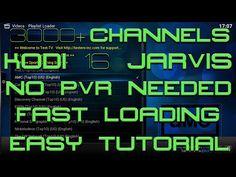 LIVE TV ON KODI 2016 - 3000+ CHANNELS - NO PVR NEEDED - RUNS THROUGH ADDON - APRIL 2016 - YouTube