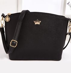 New fashion women crossbody bag casual small imperial crown Shoulder Bags Shell messenger bags fashion 2016 women bag Z-153