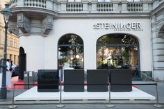 Vienna, Showroom, London, Mansions, Architecture, House Styles, Design, Home Decor, Linz