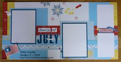 CTMH Fanfare Layout and July SOTM