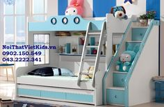 giuong-tang-tre-em-dep-giuong-tang-go-cong-nghiep- Childrens Bunk Beds, Kid Beds, Kids Bedroom, Interior Design, Modern, Furniture, Bed Room, Home Decor, Wedding