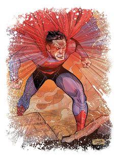 #Superman #Fan #Art. (Superman!) By: DiegoOlortegui. ÅWESOMENESS!!!™ ÅÅÅ+