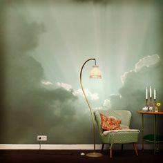 Wolken-Tapete (von Gaedke Tapeten)