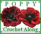 Remembrance Day Poppy   You need the Crochet Bouquet book. This link just gives some pattern changes.  I really want a nice poppy pattern.