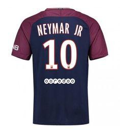 PSG Neymar Jr 10 Hemmatröja 17-18 Kortärmad