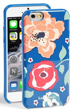 kate spade new york 'april' floral print iPhone 6 case available at #Nordstrom