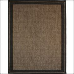 Balta New Haven Havanah And Black Rectangular Indoor Outdoor Machine Made Area Rug Common 8 X Actual W L