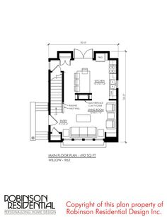 amount billed will vary according to fluctuating exchange rates and credit card processing fees. Sims House Plans, Small House Plans, House Floor Plans, Prairie Style Houses, House Construction Plan, Townhouse Designs, Cottage Plan, Cottage House, Minimalist Home