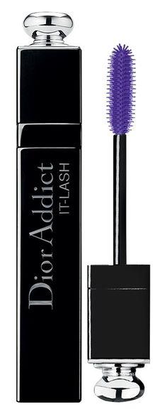 Pretty purple lashes.
