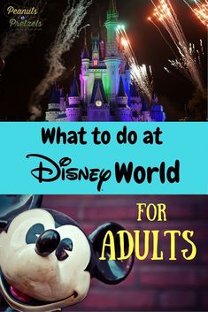What to do at Disney World? Just because you are an adult doesnt mean you wont enjoy a trip to Disney World. There is actually such a wide variety of entertainment options available at Disney even for adults that we categorized them here. Disney World Resorts, Viaje A Disney World, Disney World Tipps, Disney World Florida, Disney World Tips And Tricks, Disney Tips, Disney Vacations, Disney Parks, Disney Worlds
