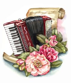 Music Painting, Art Music, Music Clipart, Harley Davidson Images, Happy Birthday Wishes Cards, Alcohol Ink Crafts, Music Drawings, Decoupage Vintage, Bee Crafts