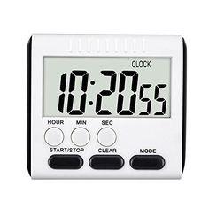 Digital+Kitchen+Timer+24+Hours+Clock+Timer+with+Stand+Big++Mudder+Magnetic+Alarm