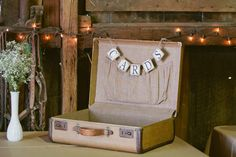 Suitcases For Wedding Cards