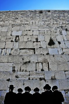 The Western Wall, Old City Of Jerusalem- The ongoing miracle is that over the centuries is that there is always space for prayer to be inserted into the wall.
