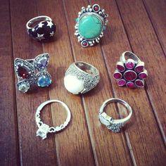 Que tal esses anéis que estão para entrar na Matka?