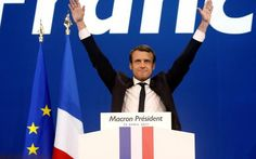 Russians who hacked Clinton campaign also targeted French candidate Emmanuel Macron