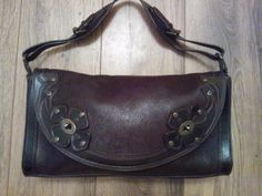 The interior of bag is unlined suede & in brilliant condition. Each piece of hardware on front is adorned with iconic mulberry tree. The exterior leather is all intact including all edges & is unmarked. | eBay!