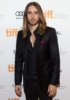 Jared Leto- that's a fast looking suit
