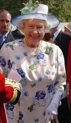 Queen Elizabeth, probably one of my favorite dresses.