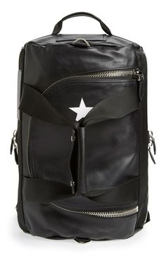 Givenchy 'Star' Convertible Leather Backpack/Duffel