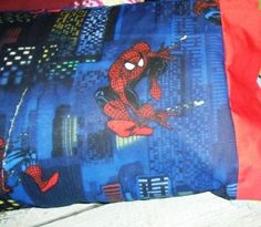 NEW SPIDERMAN kids/travel pillowcase | MadeAtNanas - Housewares on ArtFire
