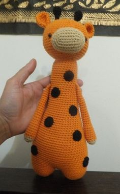 Giraffe, crochet amigurumi, 1 pc