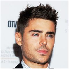 mens hairstyles 2013 short sides long top