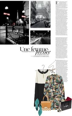 """""""Champs Elysees"""" by minnieromanovich ❤ liked on Polyvore"""