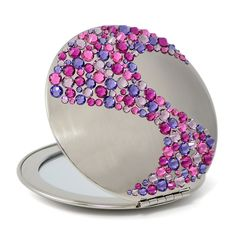 Luxury compact mirror ACS-08.4 - Design Glassware by Mont Bleu
