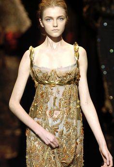 f5eb48cfc9f Dolce  amp  Gabbana F W 2006 07 Gold Fashion