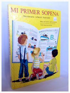 MI PRIMER SOPEÑA Vintage Children's Spanish by Rubyapplevintage