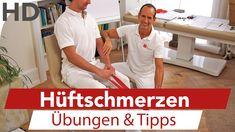 Hüftschmerzen // Übungen gegen Schmerzen im Hüftgelenk,Coxarthrose