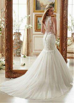 Vestido de novia para boda iglesia