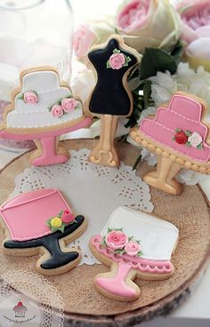 Wedding Cakes Cookies | Flickr - Photo Sharing!