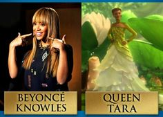 Epic – Beyonce Knowles as Queen Tara