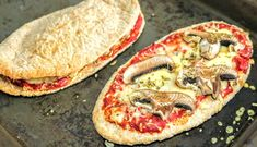 Syn Free Slimming World Pitta Bread Pizzas – 3 Ways (Calzone etc)