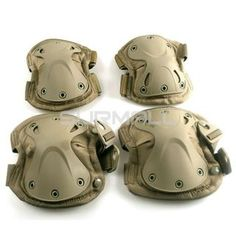 Tactical Combat Knee and Elbow Protective Pads Set