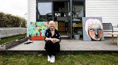 Romerikes Blad: Kari Anne Marstein atelier i Lillestrøm