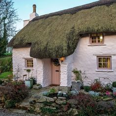 With wind and rain set to batter the nation, it's worth taking some extra precautions to ensure your house survives the seasonal onslaught. Cute Cottage, Old Cottage, Cottage Homes, Cottages Uk, Little Cottages, Storybook Homes, Storybook Cottage, English Country Cottages, Cottage Exterior