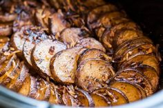 This side dish Slow Cooker Lipton Onion Potatoes is easy and has great onion flavor.