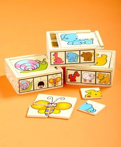 6-In-1 Wood Puzzle Boxes | LTD Commodities