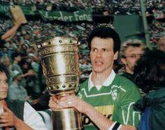 Rune Bratseth war bester Torjäger im DFB Pokal 1994 und gewann im Final mit Bremen gegen Rot Weiß Essen