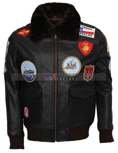 Top Gun Leather Jacket This Top Gun Tom Cruise Pete Maverick Leather jacket is the most favorite and the most famous jacket. This Top Gun Leather jacket is a replica of the jacket worn by. Winter Leather Jackets, Designer Leather Jackets, Leather Jackets For Sale, Stylish Jackets, Marty Mcfly Jacket, Maroon Jacket, Top Gun, Tom Cruise, Leather Factory